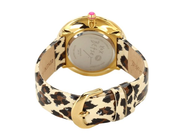 Betsey Johnson Bj00068 05 Analog Leopard Patent Printed