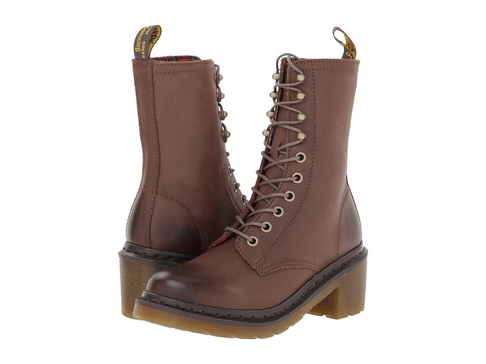 馬丁靴Dr. Martens Casey女式6孔4帶真皮粗跟馬丁靴 - 全球海外電商直購平臺 - 輕奢海淘電商 - 冰帆海淘,惠購全球