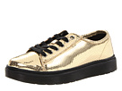 Dr. Martens - Spin Lace-To-Toe Shoe (Gold Mini Metallic Snake) - Footwear