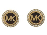 Michael Kors MK Logo Stud Earrings - Zappos.com Free ...