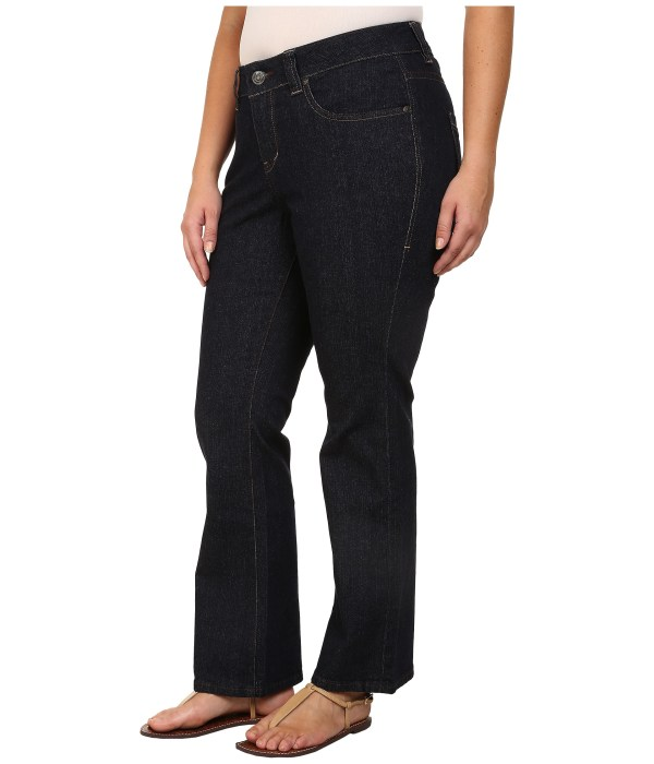 Jag Jeans Size Petite Foster Bootcut In Rinse - Free Shipping