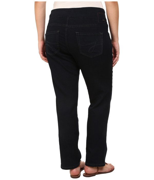 Jag Jeans Size Petite Peri Pull- Straight In Midnight - Free