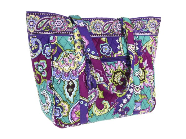 Vera Bradley Large Laptop Tote Heather Shipped Free Zappos