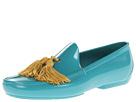 Vivienne Westwood - Plastic Tassel Moccasin (Blue Acqua) - Footwear