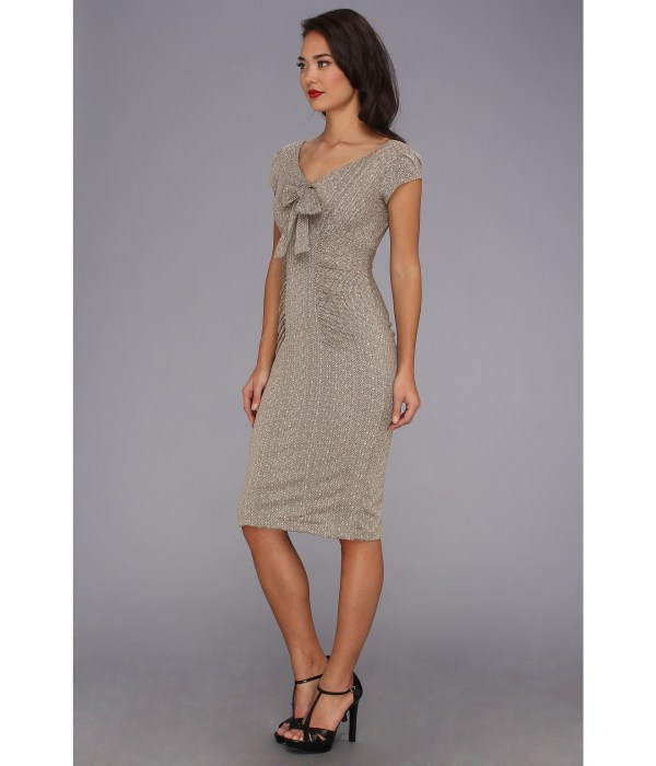 Stop Staring Cool People Amelie Fitted Dress Tan Shipped Free Zappos