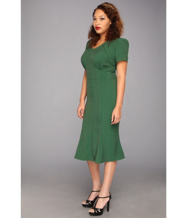 Stop Staring Cool People Holly Aline Dress Size Green Shipped Free Zappos