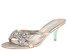 Blue by Betsey Johnson - Blush (Silver Mettalic) - Footwear
