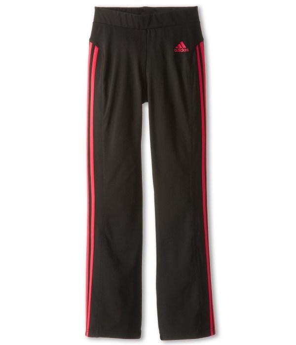 Adidas Kids Yoga Pant Little Big Blaze Pink Shipped Free Zappos