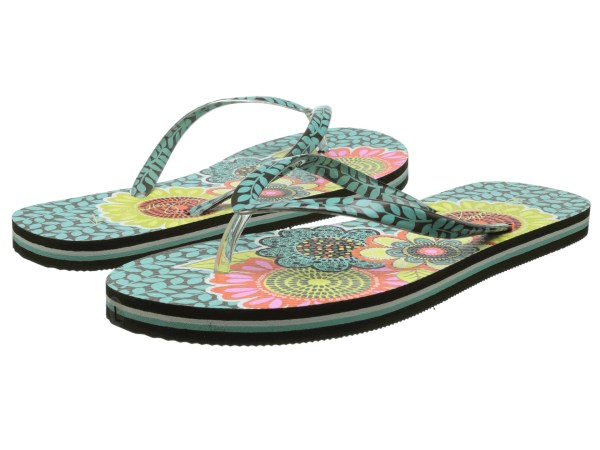Vera Bradley Flip Flops Flower Shower - Free Shipping Ways
