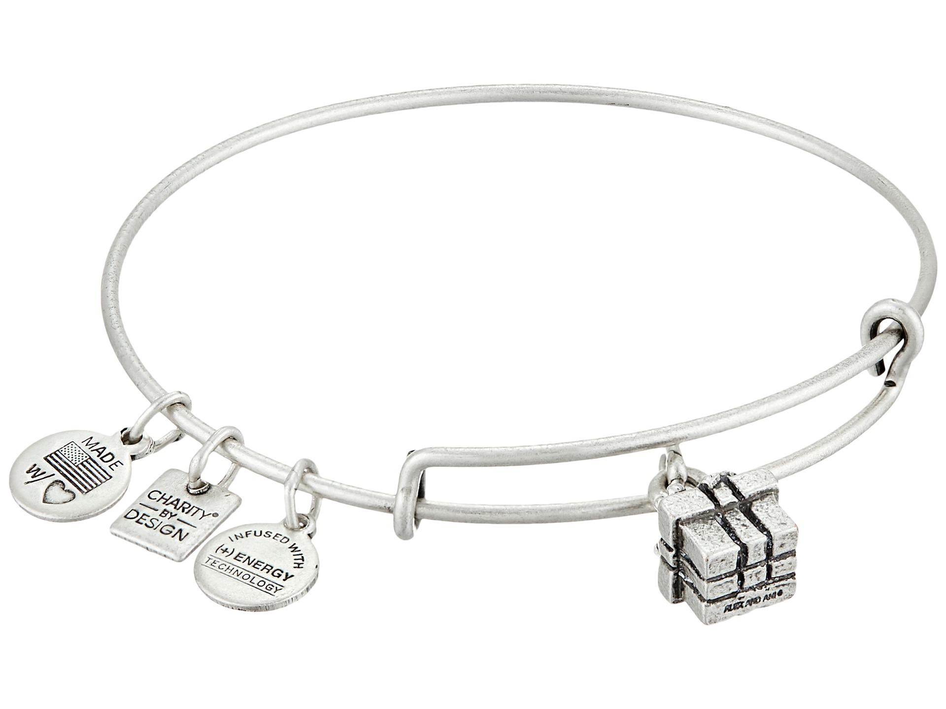 Alex And Ani T Box Charm Bangle