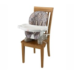 Fisher Price Spacesaver High Chair White Material Dining Chairs Luminosity Multi