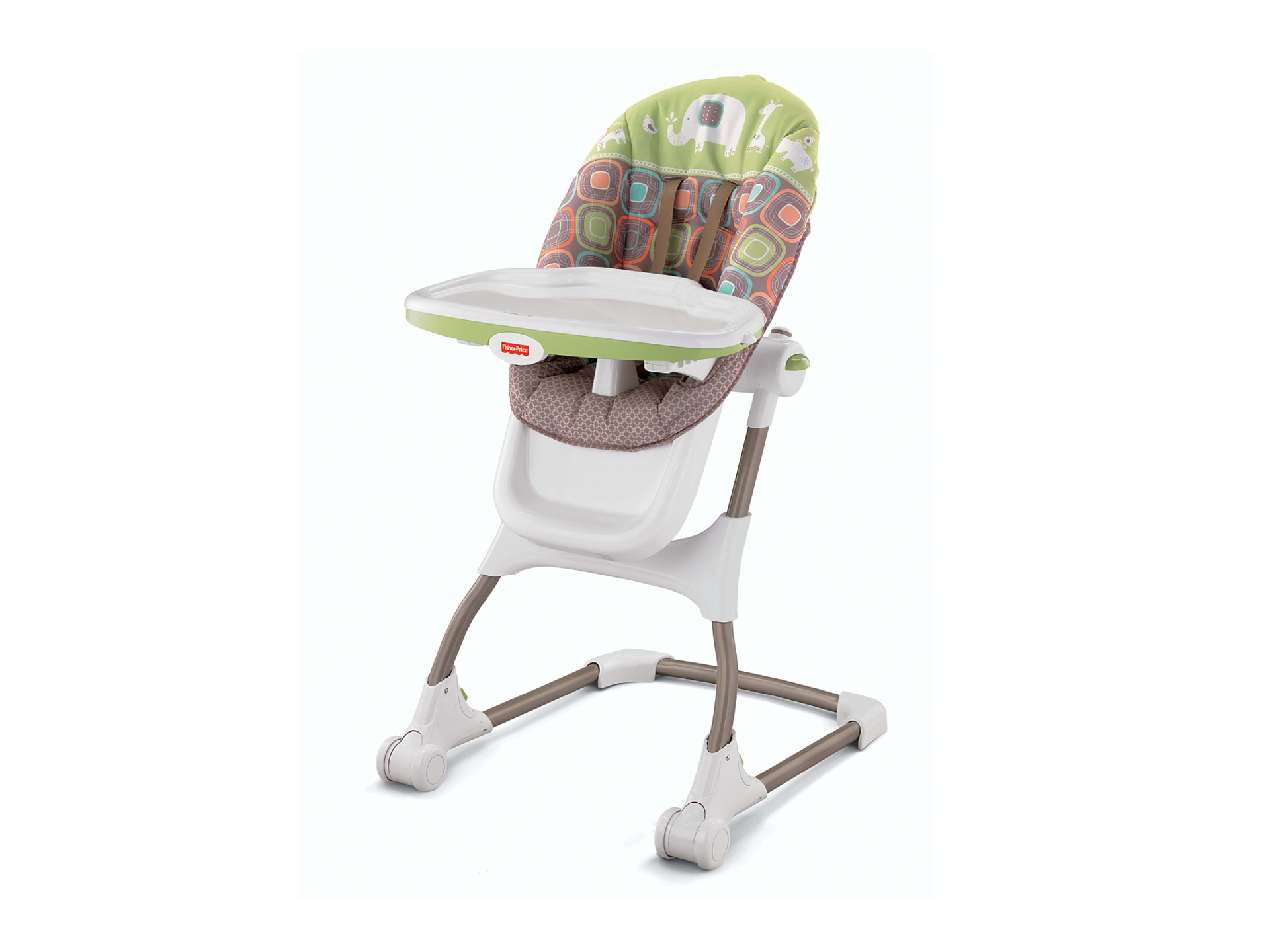 fisher price high chair seat pool deck lounge chairs ez clean coco sorbet zappos
