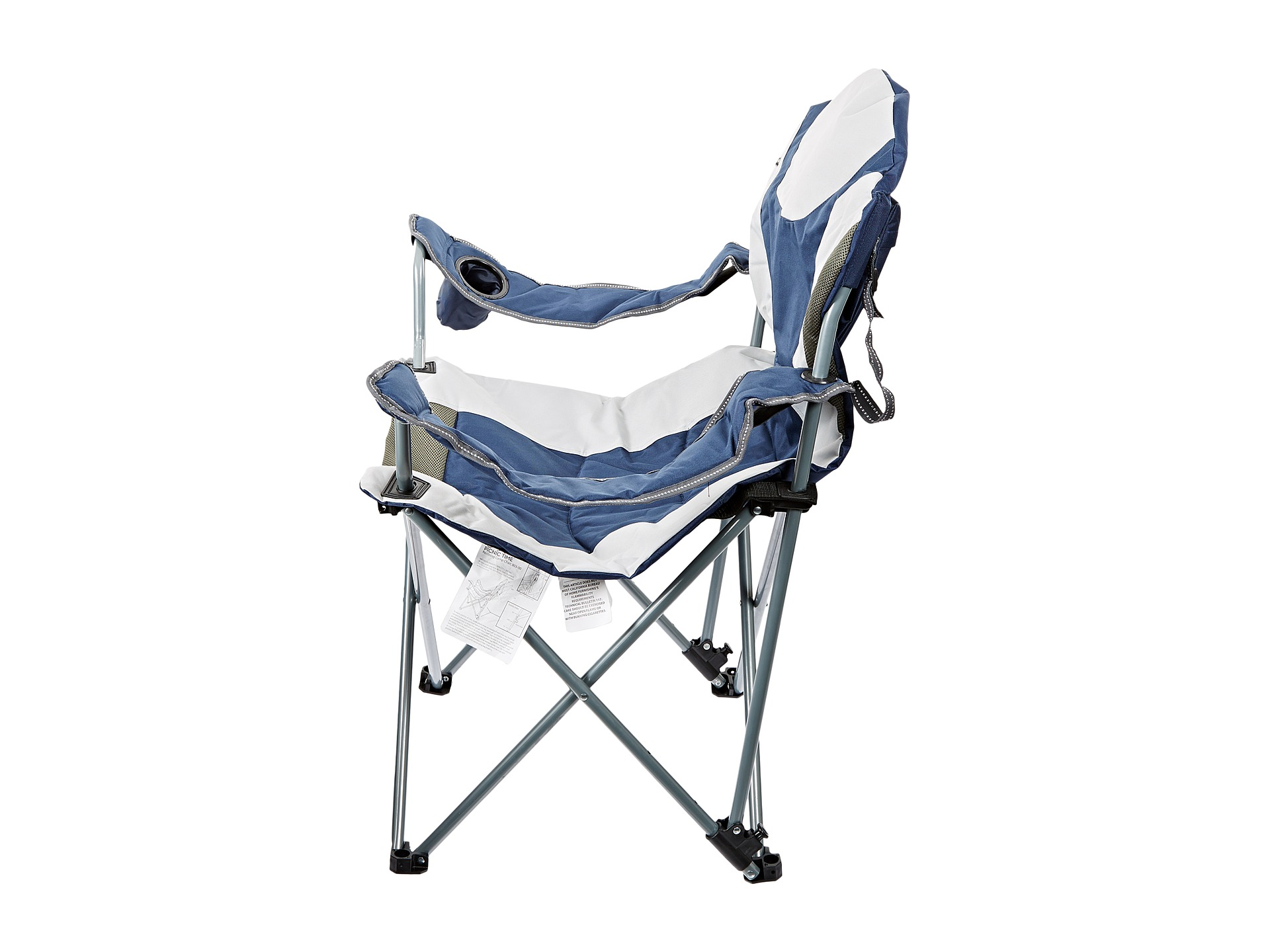 Picnic Time Reclining Camp Chair  Shipped Free at Zappos
