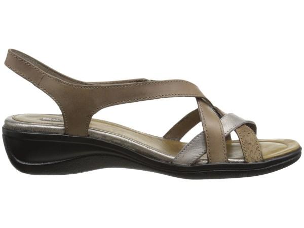Ecco Sensata Cross Strap Sandal - Free Shipping Ways