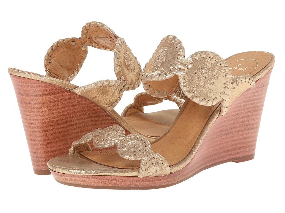 Jack Rogers - Luccia Stardust (Gold) Women's Shoes
