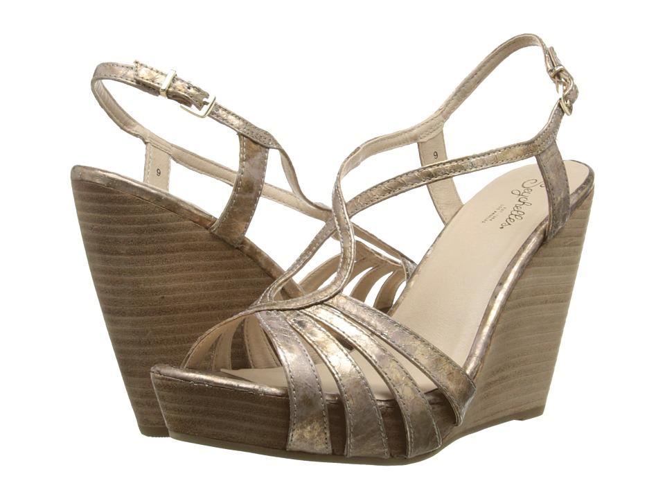 Seychelles - Brunette (Rose Gold Snake) Women's Wedge Shoes