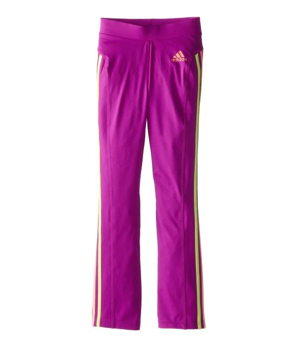 Adidas Kids Yoga Pants Color Stripes Big