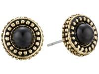 House of Harlow 1960 Cuzco Stud Earrings Grey Cat's Eye ...