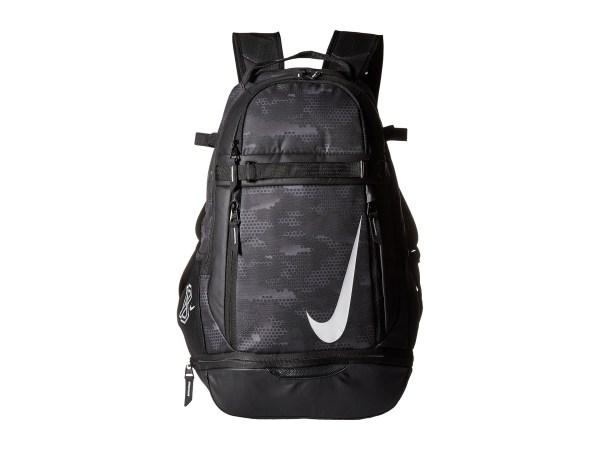 Nike Vapor Elite Bat Backpack Graphic Black White