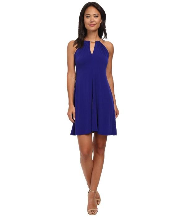 Calvin Klein Chain Halterneck Dress