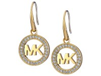 Michael Kors Logo Drop Earrings at Zappos.com