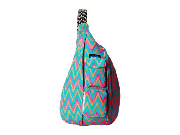 Kavu Rope Bag Neon Tile - Free Shipping Ways
