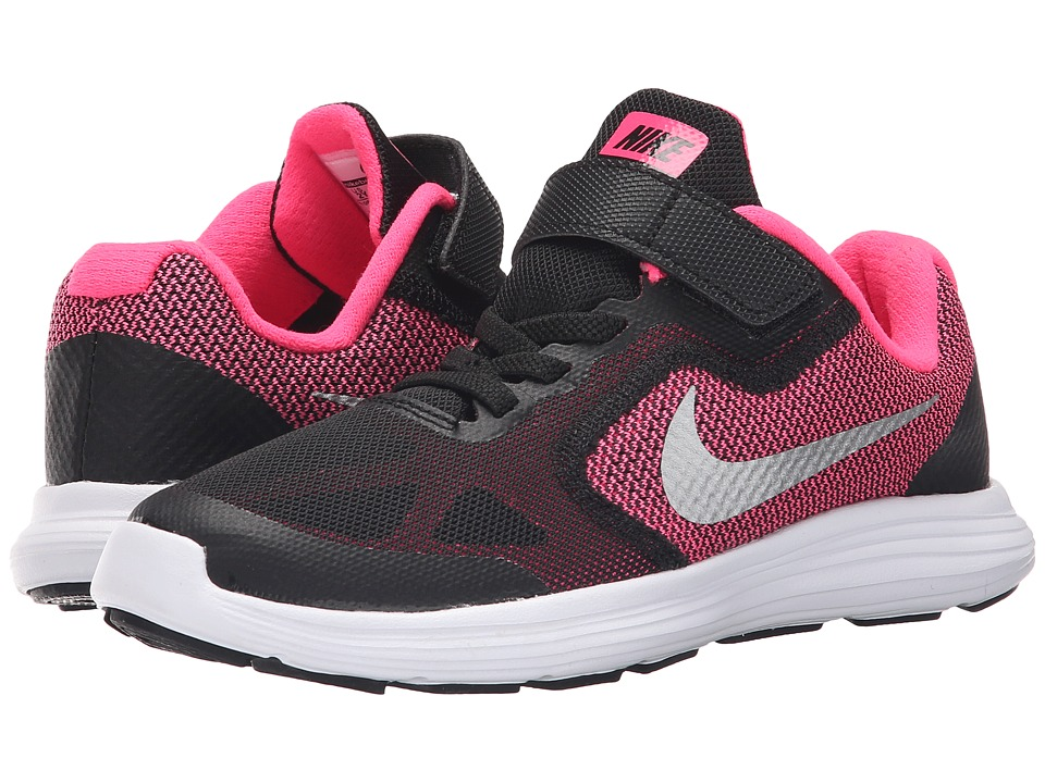 Nike Kids Revolution 3 Little Kid Girls Shoes