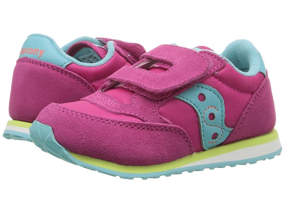 Saucony Kids Jazz Hook Loop Toddler Little Kid Kids Shoes