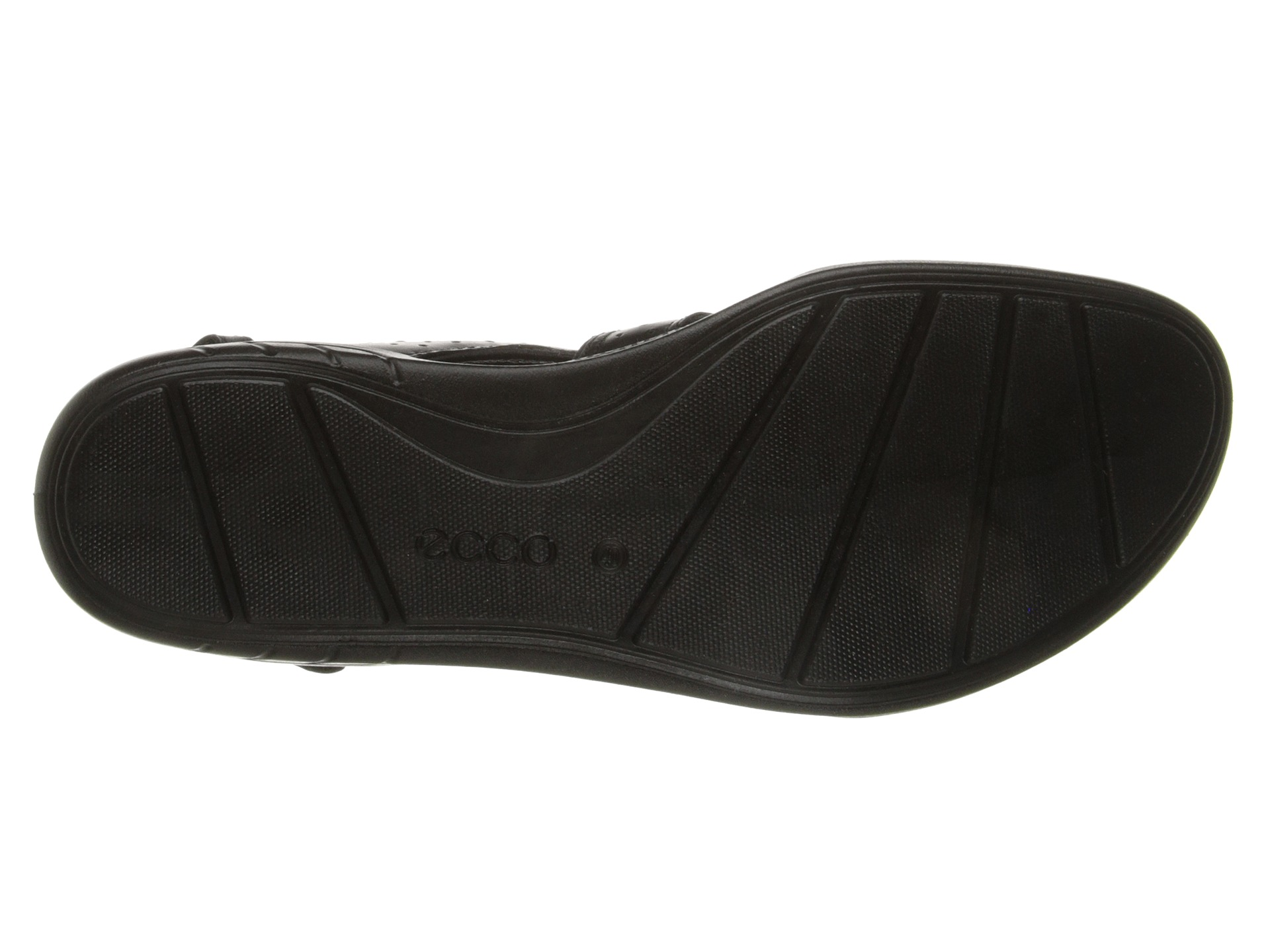 ECCO Bluma Toggle Sandal Black  Zapposcom Free Shipping