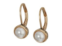 The Sak Pearl Leverback Earrings at Zappos.com