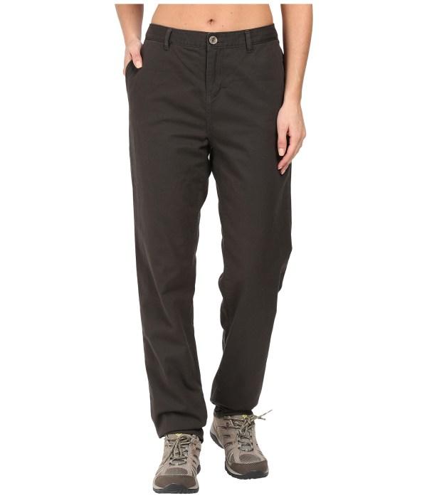 Woolrich Alderglen Flannel Lined Chino Pants Matte Gray - Free Shipping Ways