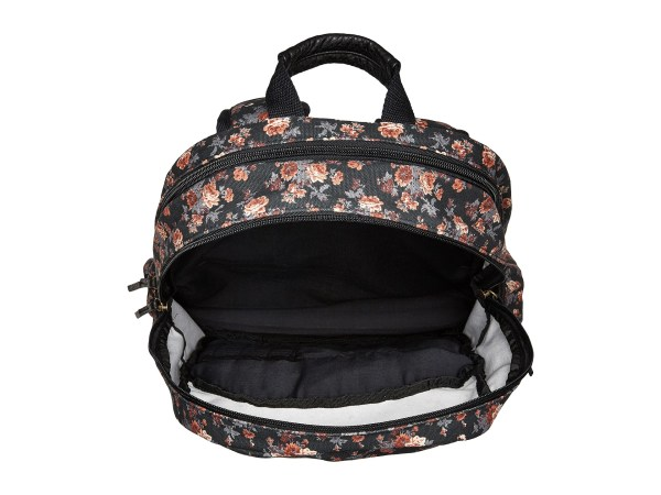 Volcom Fieldtrip Canvas Backpack Black 1 - Free