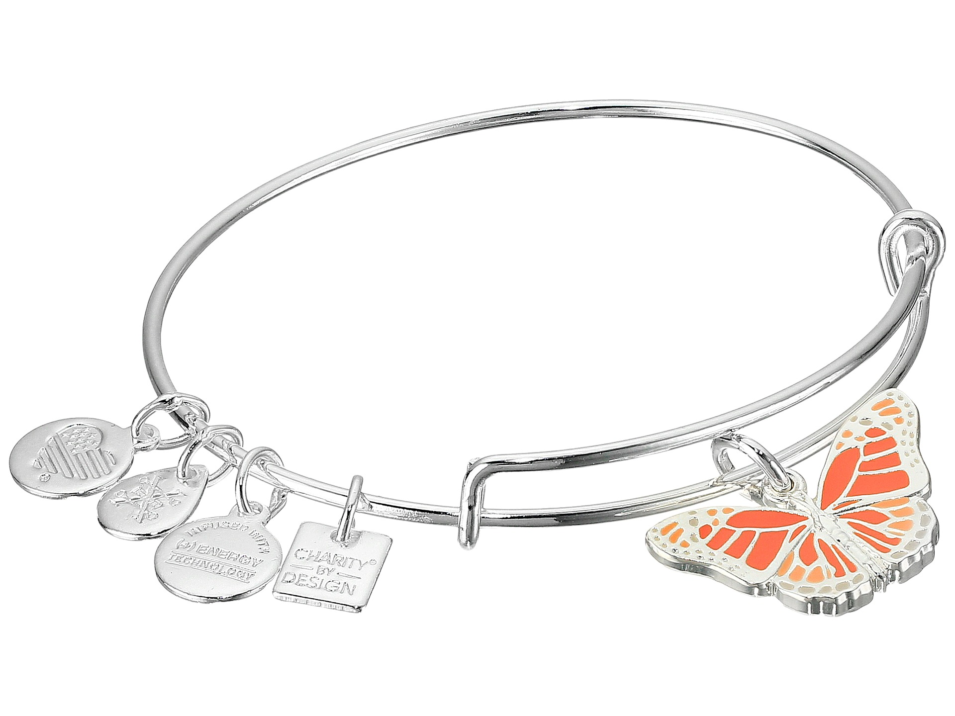 Alex and Ani Charity By Design Butterfly Bracelet