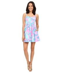 Lilly Pulitzer Ardleigh Dress Pink Pout Barefoot Princess