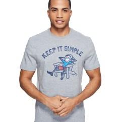 Adirondack Chair Design History Folding Japan Life Is Good Men's T-shirts, Stylish Comfort Clothing