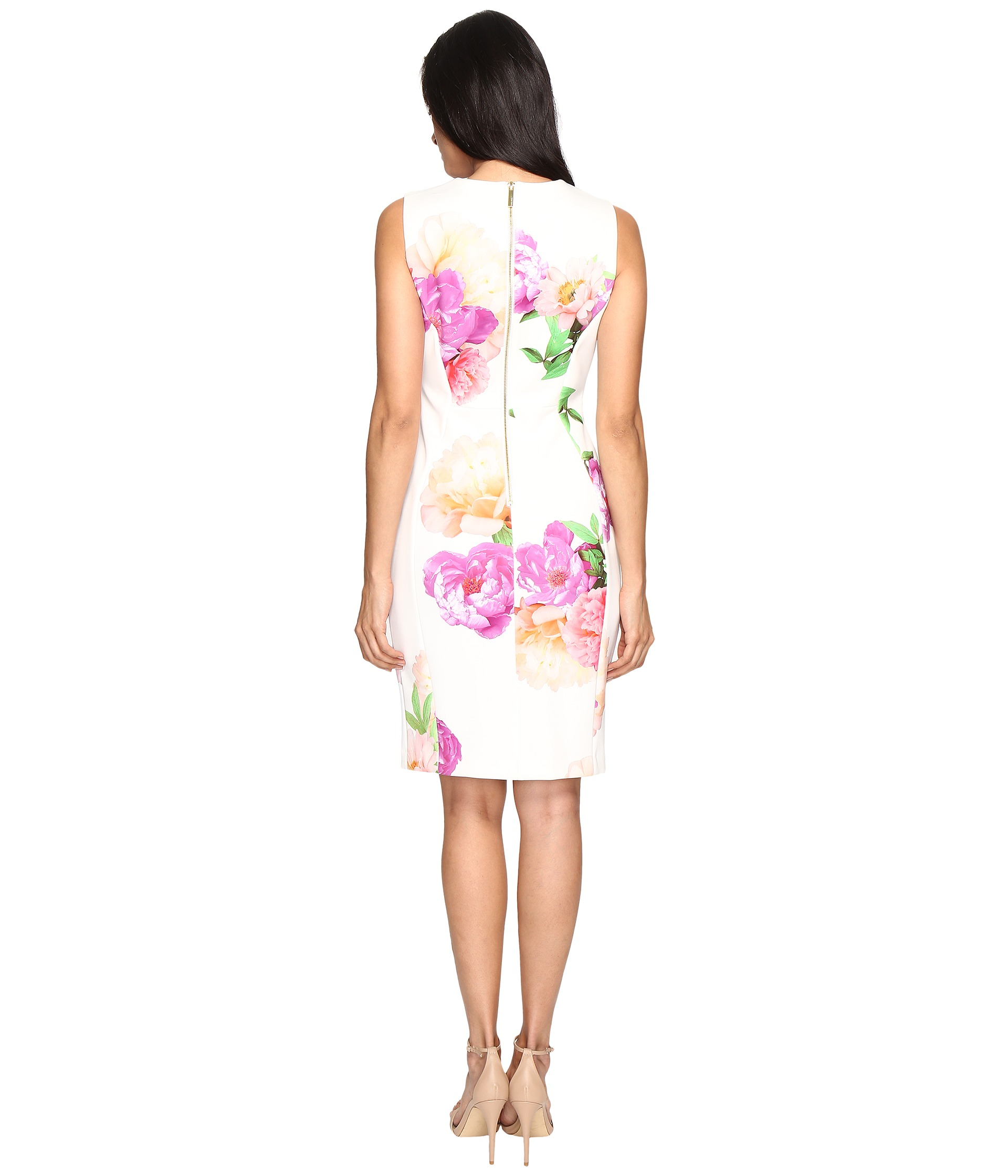 Calvin Klein Floral Sheath Dress