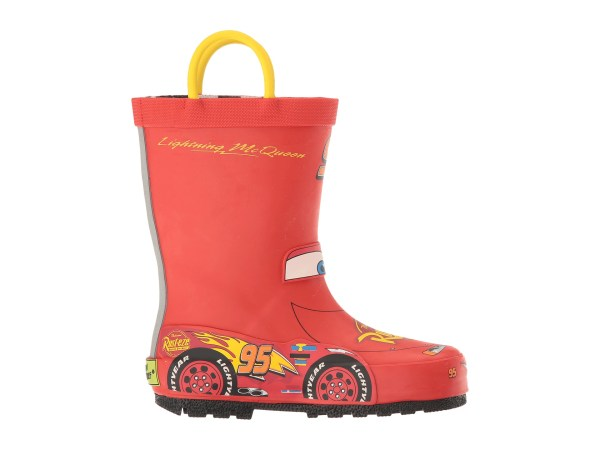 Western Chief Kids Lightning Mcqueen Rain Boots Toddler Little Kid Big