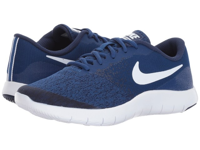 Nike Kids - Flex Contact (Big Kid) (Gym Blue/White/Binary Blue) Boys Shoes