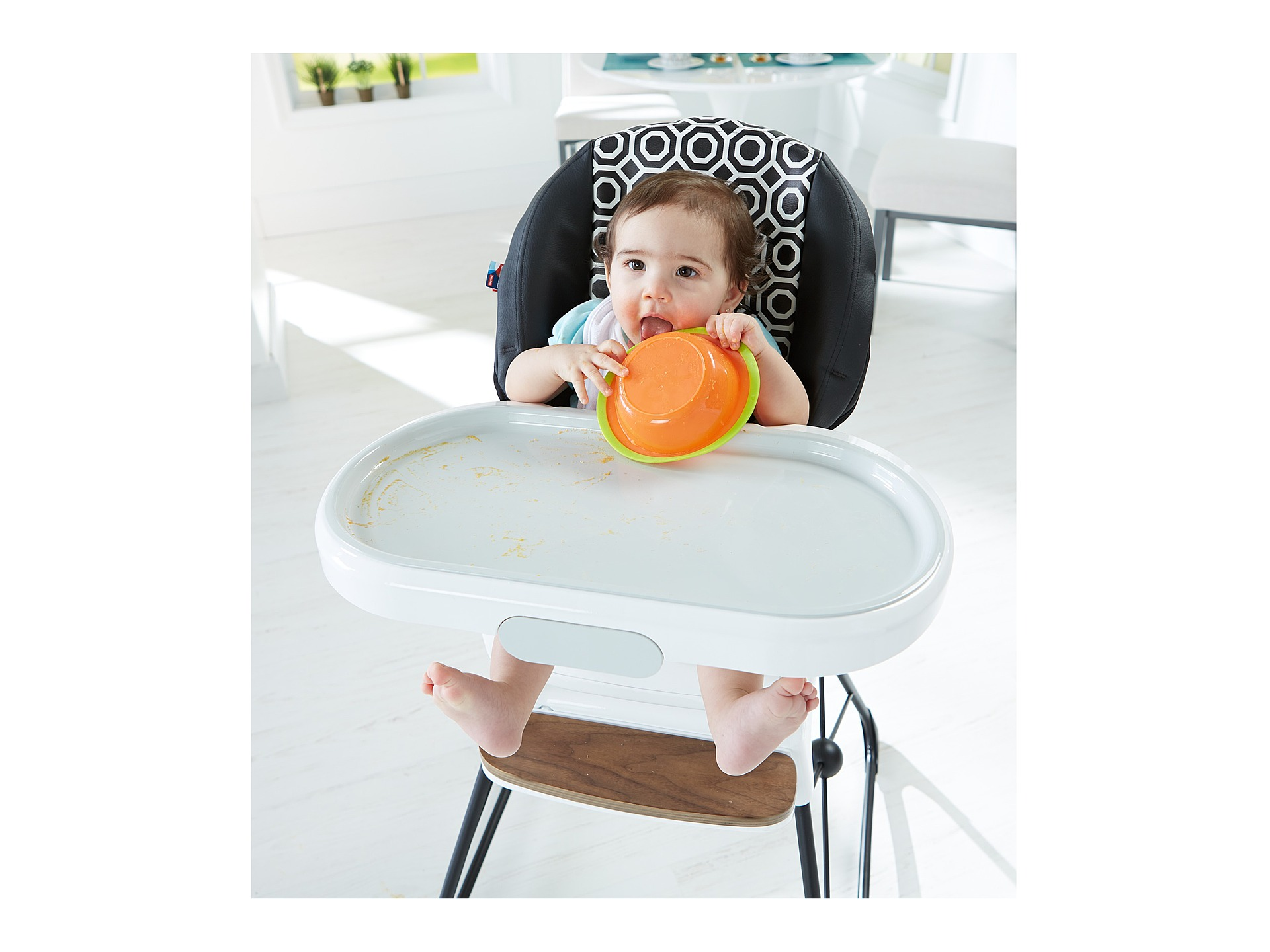 attachable high chair kelsyus go with me fisher price delux by jonathan adler at zappos