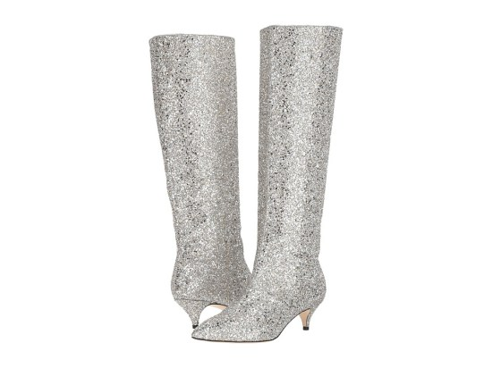 Kate Spade New York - Olina (Silver/Gold Glitter) Women's Shoes