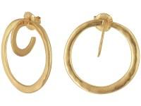 Robert Lee Morris Post Hoop Earrings at Zappos.com