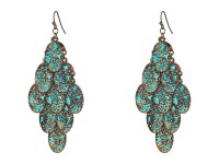 M&F Western Patina Dangle Earrings at Zappos.com