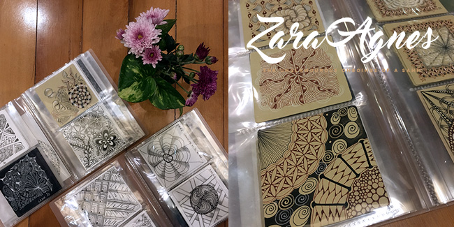 zentangle-samples