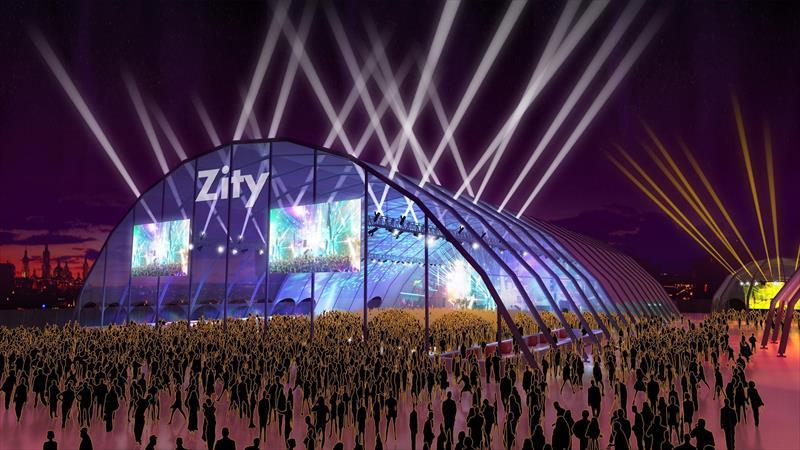 Espacio Zity - Gran carpa central del Espacio Zity Valdespartera 2018