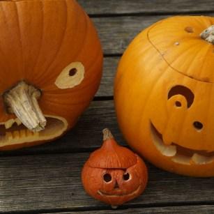 4 Planes para hacer durante Halloween en Zaragoza este 2018 - Calabazas decoradas para celebrar Halloween, una actividad de padres e hijos con un dulce resultado