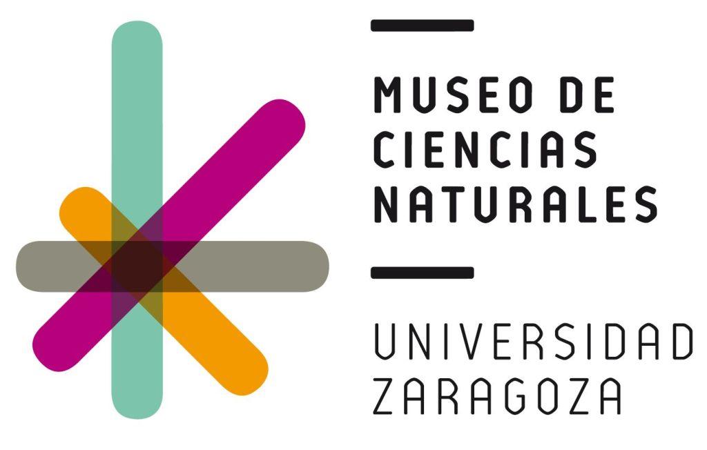 Museo de Ciencias Naturales de Zaragoza - Cartel del Museo de Ciencias Naturales de la Universidad de Zaragoza en el Paraninfo