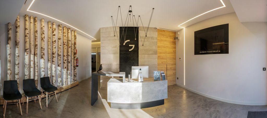 Decoración de interiores en Zaragoza - Renovación de espacios como la Fisioterapia Guzmán, interior desarrollado por Angélica Escolano