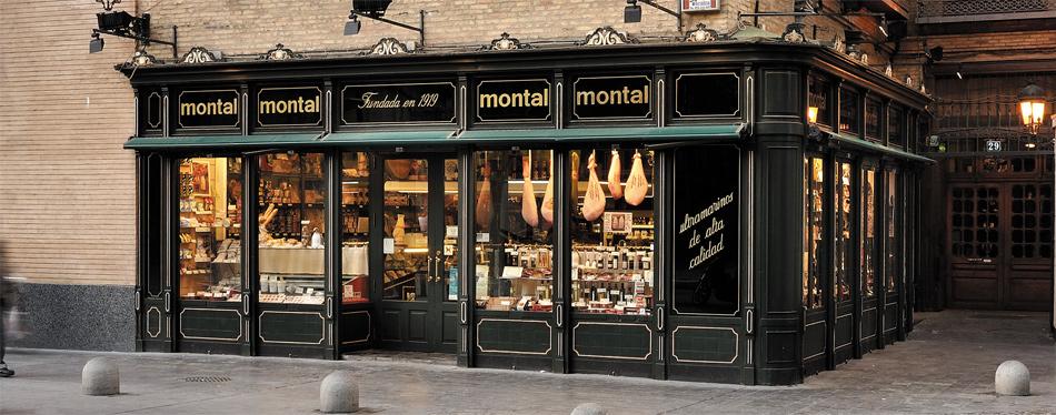 Casa Montal, con 100 años de historia en sus paredes, un negocio familiar que se ha dedicado siempre al sector gastronómico gourmet en el centro de Zaragoza