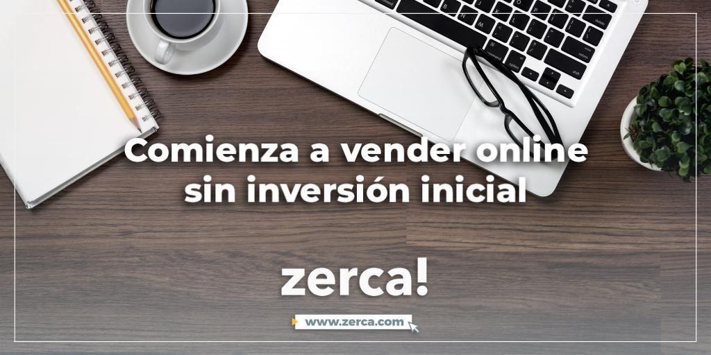 En la plataforma digital zerca! puedes empezar a vender online sin inversión inicial, y demás disfrutar del kit de digitalizacion