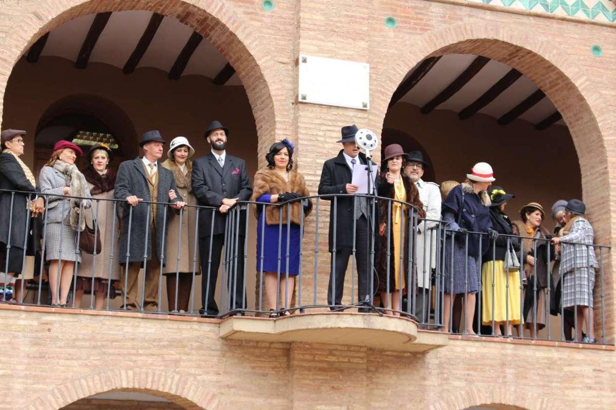 Saludo en el Ayuntamiento de Florián Rey